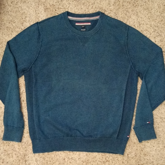 Tommy Hilfiger Other - 🆕INSIDE OUT TOMMY HILFIGER SWEATER- Size Large